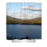 Coldstream Valley In Spring Shower Curtain