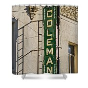 Coleman Shower Curtain
