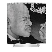 Coleman Hawkins Shower Curtain