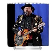 Colin Linden Of Blackie And The Rodeo Kings Shower Curtain