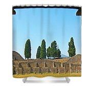 Coliseum At Pompeii Shower Curtain