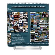 Collage Photography Services Shower Curtain