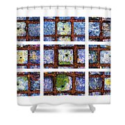 Collage The Theory Of Black Holes Shower Curtain