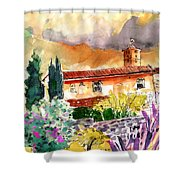 Colle D Val D Elsa In Italy 03 Shower Curtain