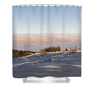 Colleague Shower Curtain