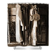Collecting Dust Shower Curtain
