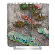 Collecting Old Trees Shower Curtain
