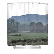 Collecting The Hay Shower Curtain