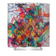 Collecting Thought 3 Shower Curtain