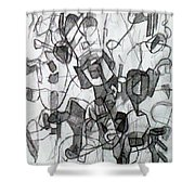 Collecting Thought 6 Shower Curtain