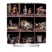 Collection At Techatticup Gold Mine-alt Process Shower Curtain