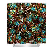 Collection Of Shells Shower Curtain