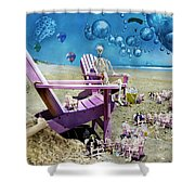 Collective Souls Shower Curtain