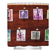 Collector - Stamp Collector - My Stamp Collection Shower Curtain