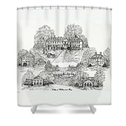 College Of William And Mary Shower Curtain