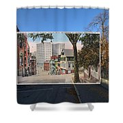 College Street To Market Square In Providence Ri Shower Curtain