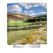 College Valley Forest Shower Curtain