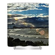 Collingwood Terminal Building Shower Curtain