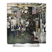 Collins Pharmacy, 1900 Shower Curtain