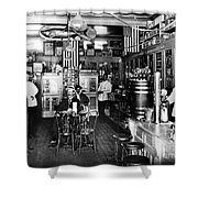 Collins Pharmacy, 1914 Shower Curtain