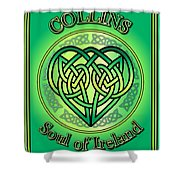 Collins Soul Of Ireland Shower Curtain