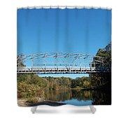 Collinsville Steel Bridge 1 Shower Curtain