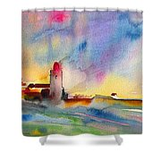 Collioure Impression 01 Shower Curtain