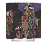 Colloquy Of Monos And Una Shower Curtain