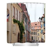 Colmar Small Street Shower Curtain