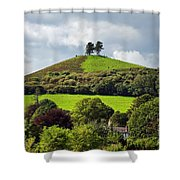 Colmers Hill At Symondsbury Shower Curtain