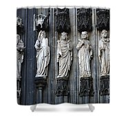 Cologne Cathedral Statuary Shower Curtain