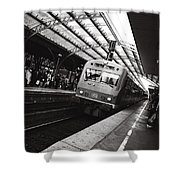 Cologne Trainstation Shower Curtain by Jimmy Karlsson