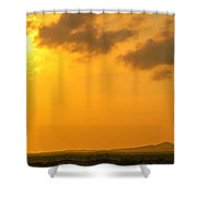 Colombia Sunrise Shower Curtain
