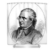 Colonel Isaac Barre Shower Curtain