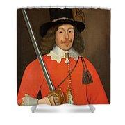 Colonel John Hutchinson, C.1643 Shower Curtain