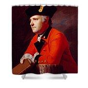 Colonel John Montresor Shower Curtain
