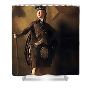 Colonel Macdonnel Of Glengarry Shower Curtain