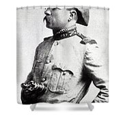 Colonel Theodore Roosevelt 1898 Shower Curtain