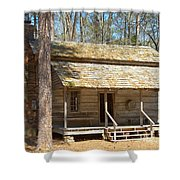 Colonial Cabin Shower Curtain