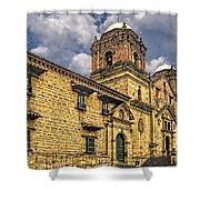 Colonial Church Shower Curtain
