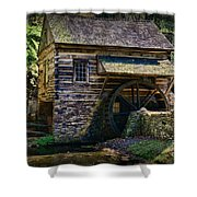 Colonial Grist Mill Shower Curtain