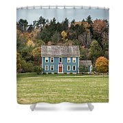Colonial Home Shower Curtain