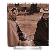 Colonial Ladies Shower Curtain