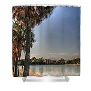 Colonial Lake Shower Curtain