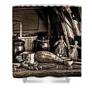 Colonial Table Set Shower Curtain