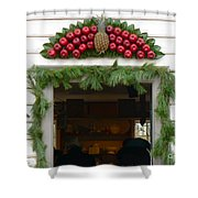 Colonial Williamsburg Yuletide Decorations Shower Curtain