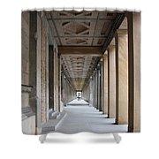 Colonnade Neues Museum Berlin Shower Curtain