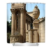 Colonnades Palaces Of Fine Arts Shower Curtain