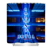 Colony Hotel 2 Shower Curtain