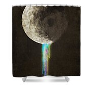 Color Bleed Shower Curtain